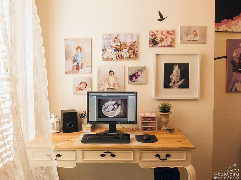 שולחן העבודה של בסטודיו