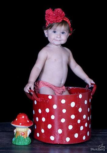 תינוקת חיפושית אדומה