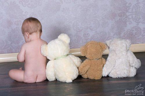 תמונות לתינוק עם דובים