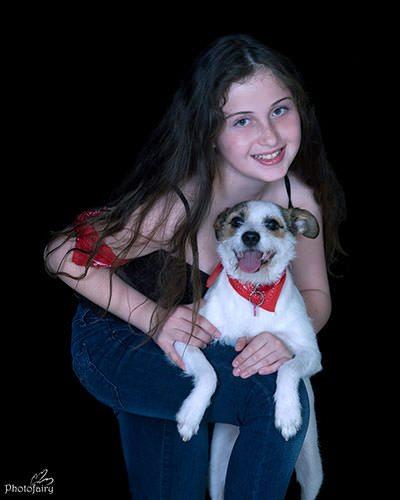 צילומי בוק עם כלב