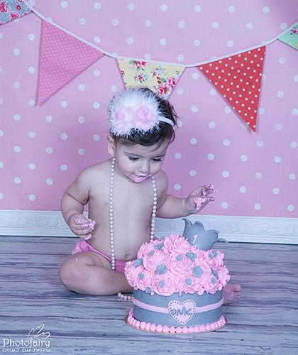 עוגת יום הולדת שנה_ קייק סמאש