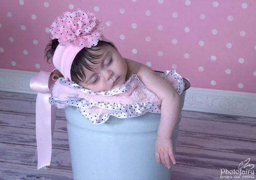 צילום ניו בורן תינוקת בדלי