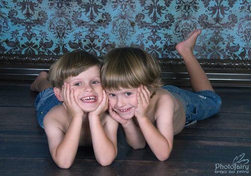 צילומי ילדים- תאומים מתוקים