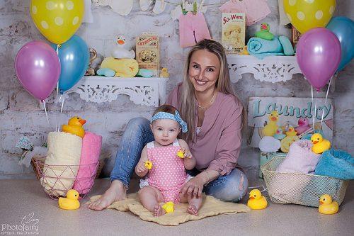 צילום משפחה אמא ותינוקת