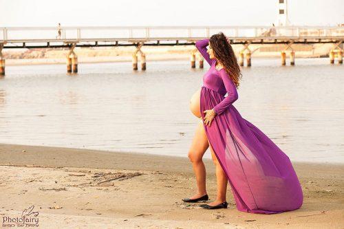 צילומי הריון בטבע אורבני