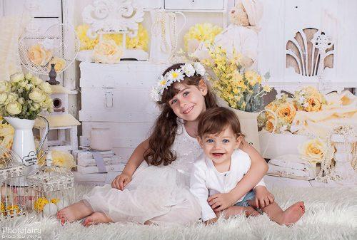 צילומי ילדים בסגנון וינטאג' רומנטי