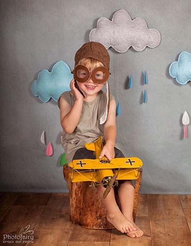צילומי ילדים בסטודיו- טייס