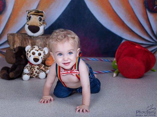 צילום תינוקות - הקרקס בא העירה