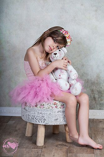 צילום ילדים מקצועי בגנון רומנטי עדין