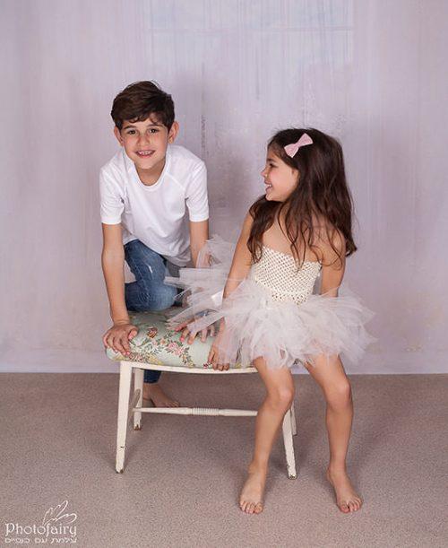 צילומי ילדים ומשפחה בסטודיו - כיף גדול