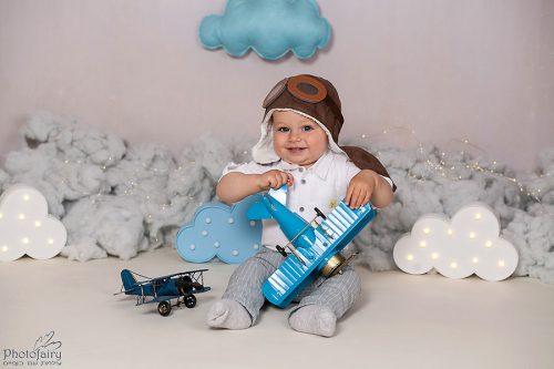 צילום תינוק סשן טייס