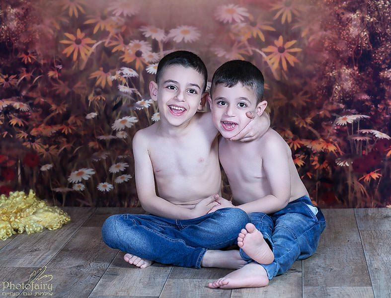צילומי ילדים ומשפחה בסטודיו מאובזרובזר