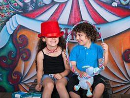 צילומי ילדים בקרקס