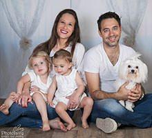 צילומי משפחה עם הכלב