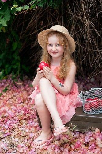 צילום ילדה בטבע