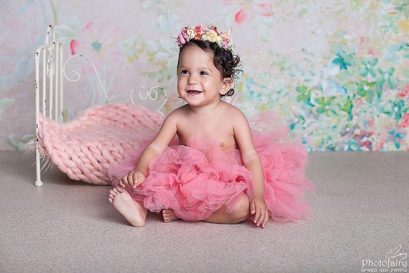 צילומי תינוקות גיל שנה