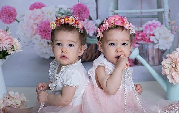 תאומות או לא להיות - צילומי משפחה