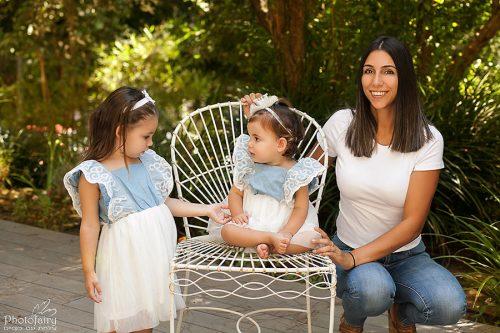 תמונות משפחה מקצועיות - בגינה יפה