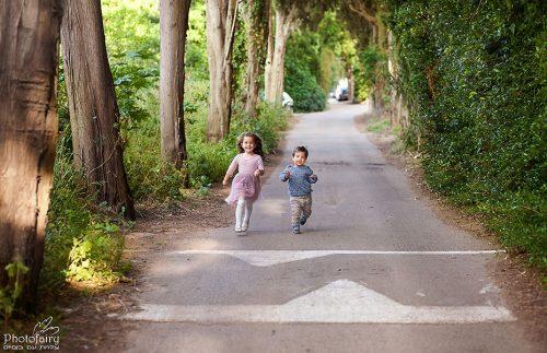 צילום ילדים מקצועי בחוץ